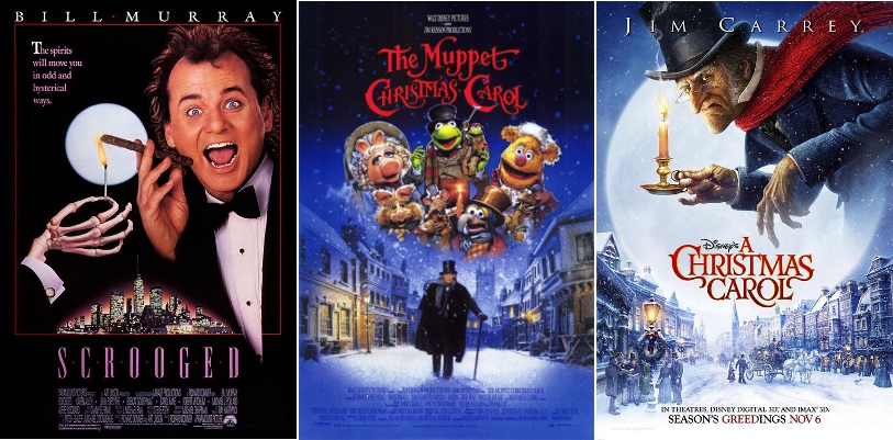 Grudge Match Review Scrooged Vs The Muppet Christmas Carol Vs Disney S A Christmas Carol Rounds 1 5 The Viewer S Commentary
