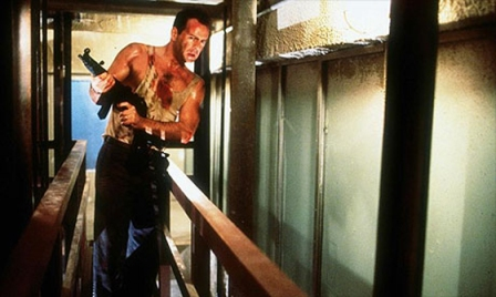 Die Hard - Bruce Willis as John McClane