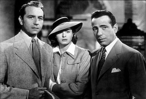 Casablanca - Paul Henreid, Ingrid Bergman, Humphrey Bogart