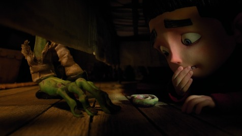 ParaNorman - Hiding from zombies