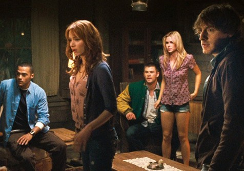 The Cabin in the Woods - Just your typical college kids doing typical college things in a cabin in the woods