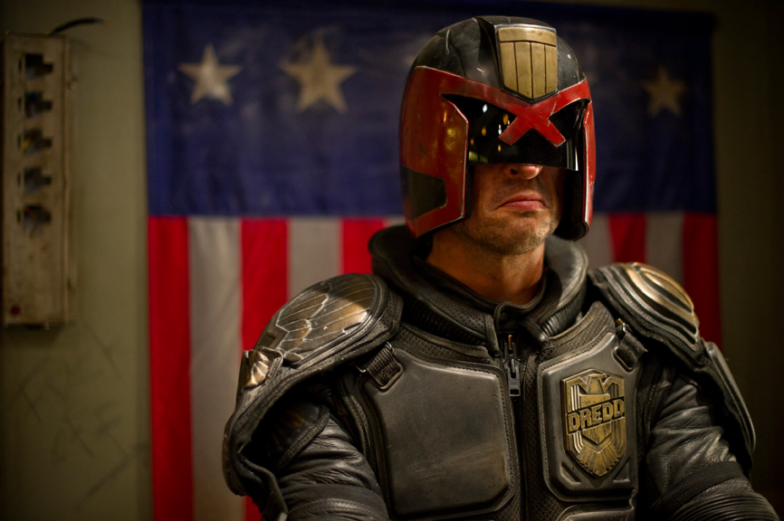 Dredd - Karl Urban as Judge Dredd
