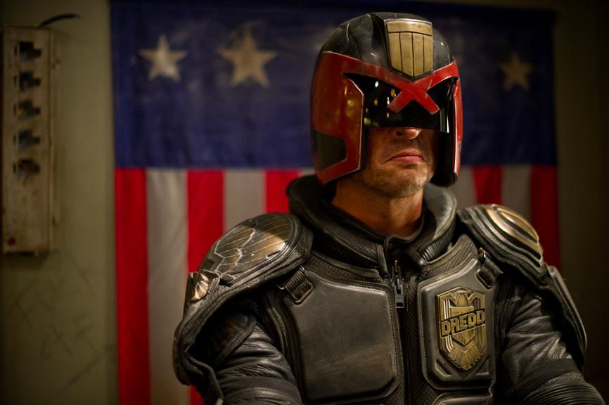 Dredd - Karl Urban as Judge Dredd