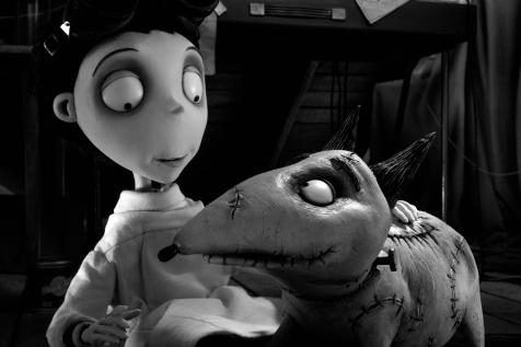 Frankenweenie - Victor and Sparky Frankenstein