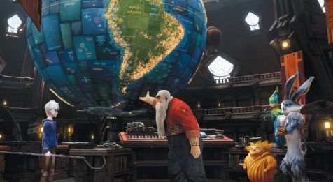 Rise of the Guardians - The Guardians' globe