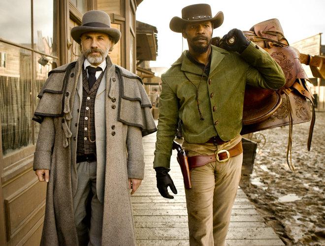 Django Unchained - Christoph Waltz and Jamie Foxx