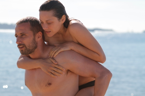 Rust and Bone - Marion Cotillard and Matthias Schoenaerts