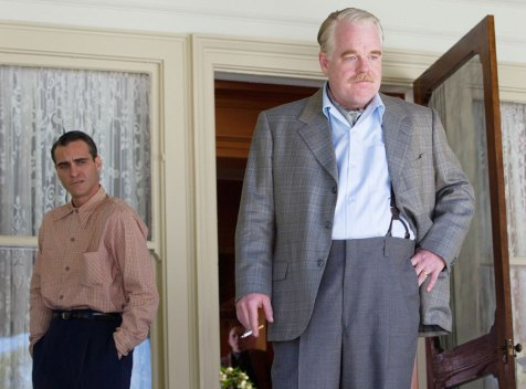 The Master - Joaquin Phoenix and Philip Seymour Hoffman