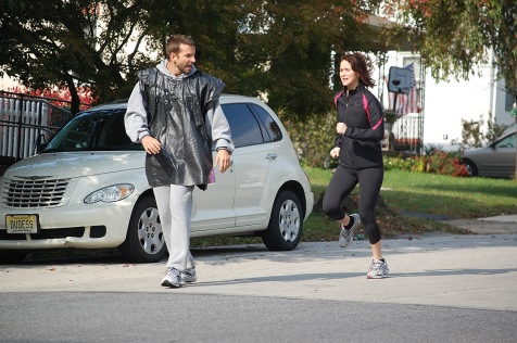 The Silver Linings Playbook - Bradley Cooper and Jennifer Lawrence