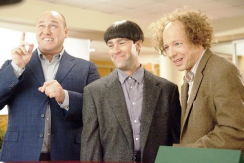 The Three Stooges - Will Sasso, Chris Diamantopoulos, and Sean Hayes