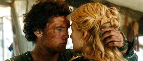 Wrath of the Titans - Sam Worthington and Rosamund Pike