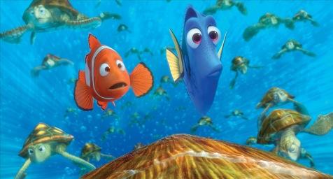 Finding Nemo - Marlin and Dory (Albert Brooks and Ellen DeGeneres)