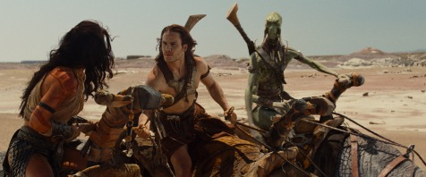 John Carter - Taylor Kitsch frets over realizing he's not the prettiest one in the film