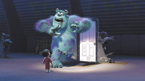 Monsters, Inc. - Boo and Sully (Mary Gibbs and John Goodman)