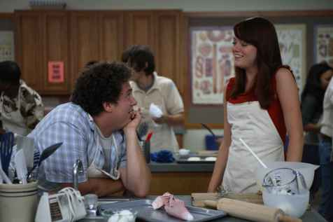 Superbad - Jonah Hill and Emma Stone
