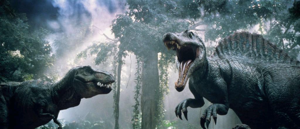Jurassic Park III - T-Rex vs  SpinosaurusJurassic Park Toys Spinosaurus Vs Trex