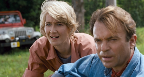 Jurassic Park - Laura Dern and Sam Neill