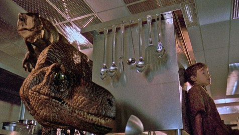 Jurassic Park - Velociraptors and Joseph Mazzello