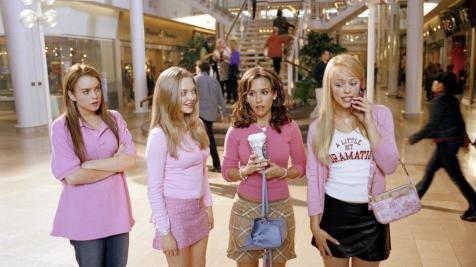 Mean Girls - Lindsay Lohan, Amanda Seyfried, Lacey Chabert, Rachel McAdams