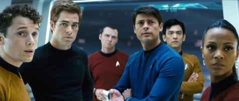 Star Trek - Anton Yelchin, Chris Pine, Simon Pegg, Karl Urban, John Cho, Zoe Saldana