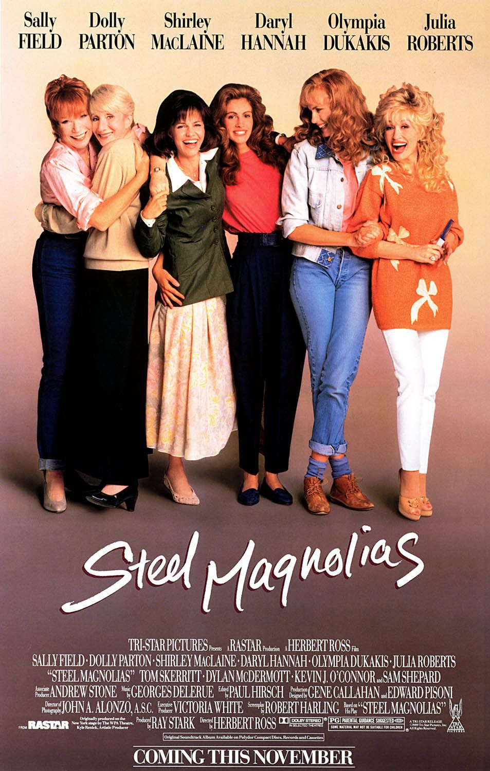 movie review steel magnolias Certified fresh movies and tv shows are certified fresh with a steady tomatometer of 75% or higher after a set amount of reviews (80 for wide-release movies, 40 for limited-release movies, 20 for tv shows), including 5 reviews from top.