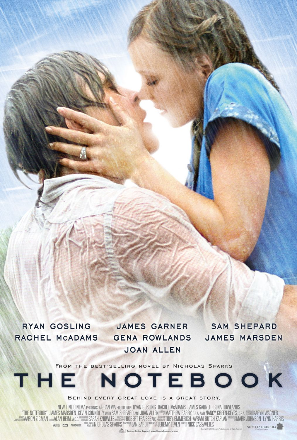 "review ""the notebook"" the viewer s commentary the notebook directed by nick cassavetes"