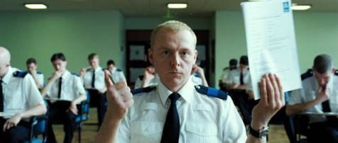 Hot Fuzz - Simon Pegg as Nicholas Angel