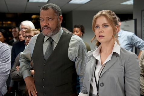 Man of Steel - Laurence Fishburne, Amy Adams