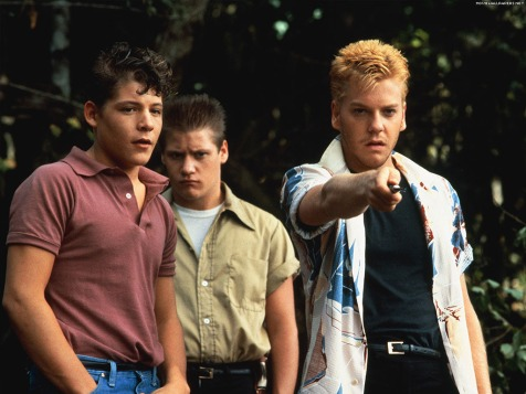 Stand by Me - Bradley Gregg and Kiefer Sutherland (foreground)