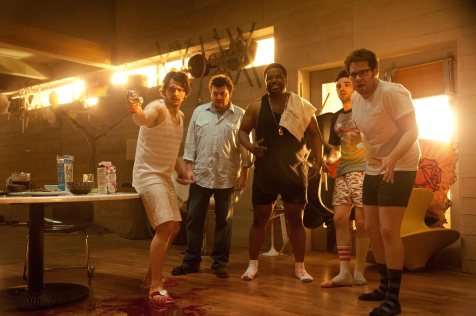 This Is the End - James Franco, Danny McBride, Craig Robinson, Jay Baruchel, Seth Rogen