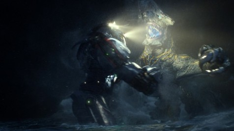 "Pacific Rim - Gipsy Danger vs. ""Knifehead"""