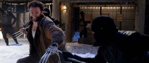The Wolverine - Wolverine vs. Ninjas