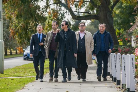 The World's End - Martin Freeman, Paddy Considine, Simon Pegg, Nick Frost, Eddie Marsan