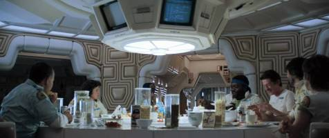 Alien - Not quite the last supper