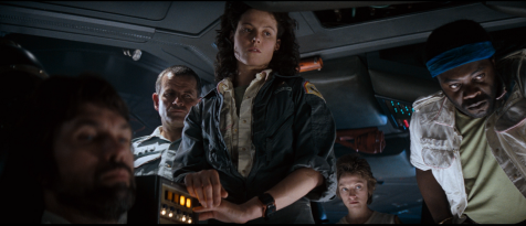 Alien - Tom Skerritt, Ian Holm, Sigourney Weaver, Veronica Cartwright, Yaphet Kotto