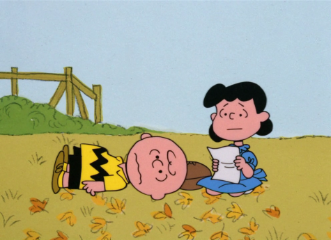 It's the Great Pumpkin, Charlie Brown - Football Gag