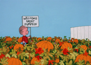 It's the Great Pumpkin, Charlie Brown - The Sincerest Pumpkin Patch