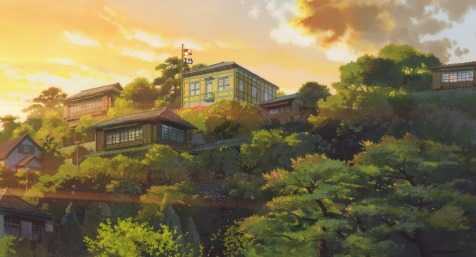 From Up on Poppy Hill - Flags