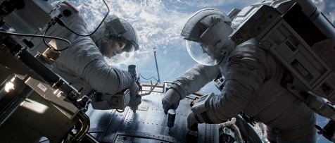 Gravity - Sandra Bullock and George Clooney