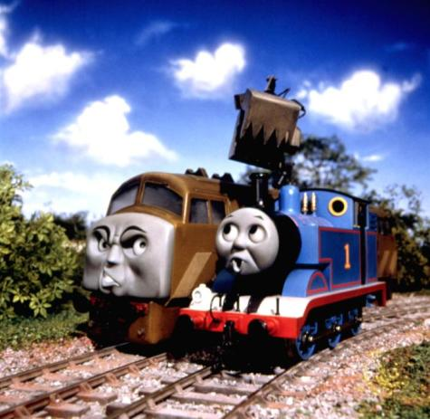 Thomas and the Magic Railroad - Diesel vs. Thomas