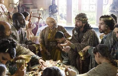 The Nativity Story - Stefan Kalipha, Eriq Ebouaney, Nadim Sawalha, Ciarán Hinds, Alessandro Giuggioli