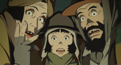 Tokyo Godfathers - Hana, Miyuki, and Gin
