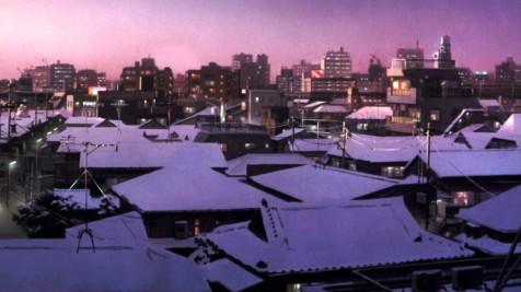 Tokyo Godfathers - Tokyo landscape