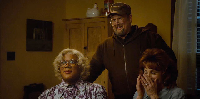 Tyler Perry's A Madea Christmas - Larry the Cable Guy, Tyler Perry, and Kathy Najimy