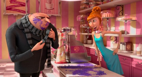 Despicable Me 2 - Gru and Lucy Wilde