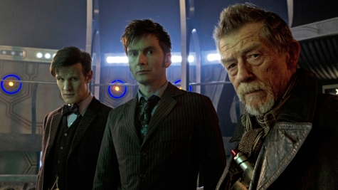 Doctor Who: The Day of the Doctor - Matt Smith, David Tennant, John Hurt