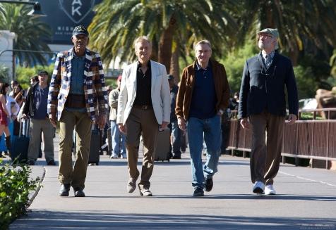 Last Vegas - Morgan Freeman, Michael Douglas, Robert De Niro, Kevin Kline