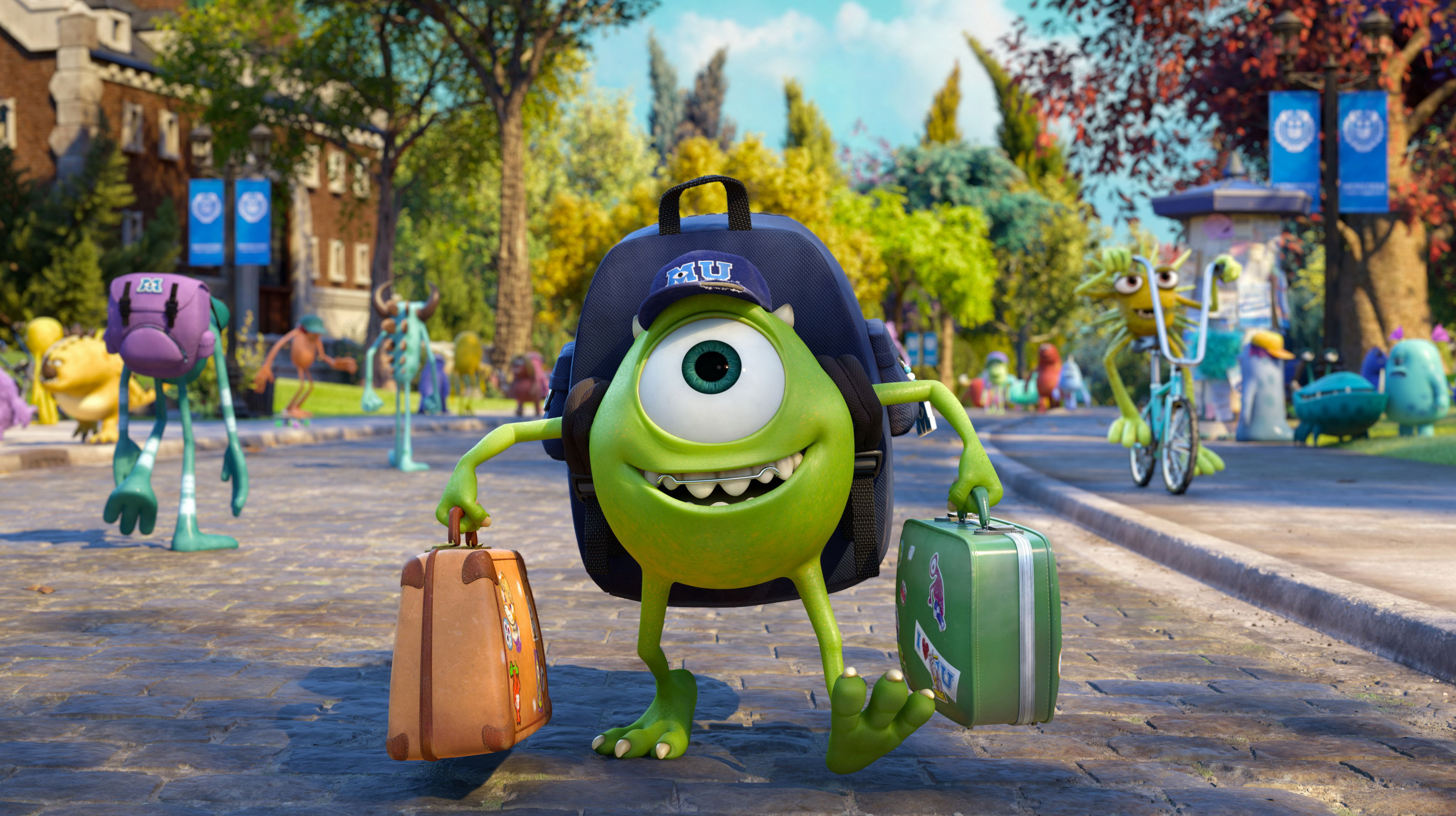 Monsters University - Mike Wazowski