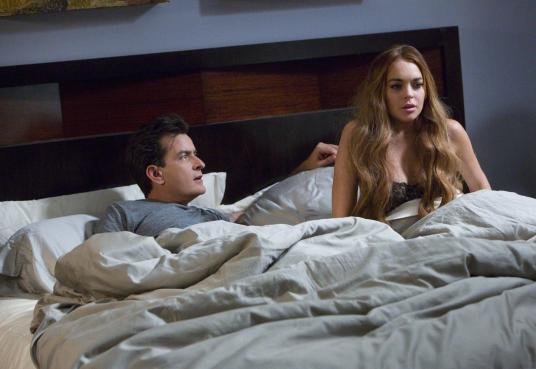 Scary Movie V - Charlie Sheen, Lindsay Lohan
