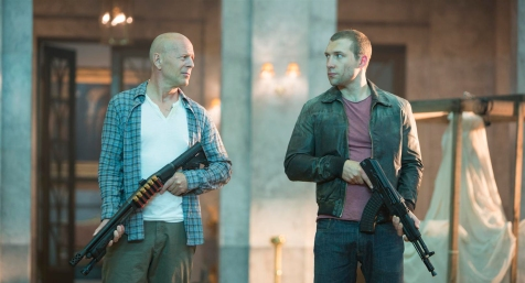 A Good Day to Die Hard - Bruce Willis, Jai Courtney